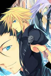 FF7- Trinity by meru-chan