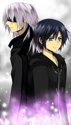 KH- Riku and Xion by meru-chan