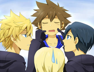 KH- S-stop doing that please.. by meru-chan