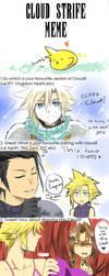 FF7- Cloud Strife Meme by meru-chan
