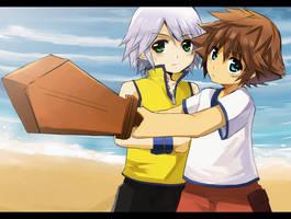 KH- 'I'll protect Riku' by meru-chan