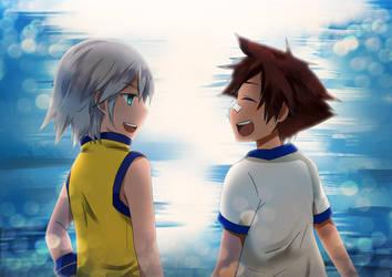 KH- when we were kids by meru-chan
