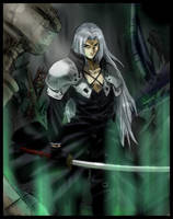 ::Sephiroth::---colored by meru-chan