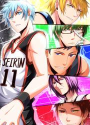 Kuroko no Basket- Generation of Miracle by meru-chan