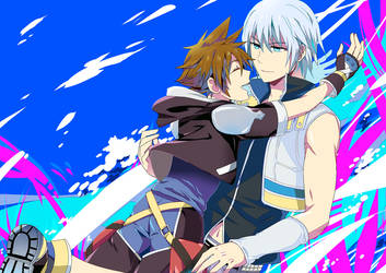 KH- You're here by meru-chan