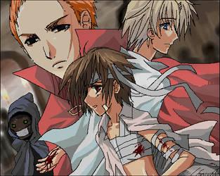 Darren Shan: Trials of Death by meru-chan