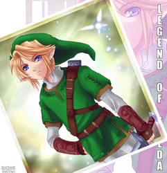 Legend of Zelda- Link for Nana by meru-chan