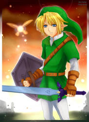 Legend of Zelda- for Pallid by meru-chan