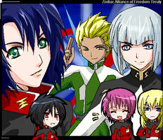 GSD- ZAFT luv by meru-chan