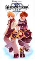 KH2- Roxas X Sora by meru-chan
