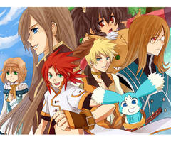 +Tales of the Abyss+ by meru-chan