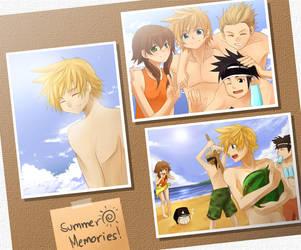 KH2-Summer Memories:Roxas Side by meru-chan