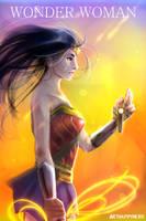 Wonder Woman by arthappyneko