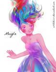 Meiyla by WhiteKiss