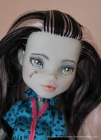 Repainted Frankie (Sold) by MySweetQueen-Dolls