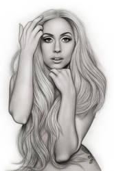 Lady Gaga Vanity Fair Outtake by AdamAlexisRyan