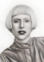Lady Gaga Vogue by AdamAlexisRyan