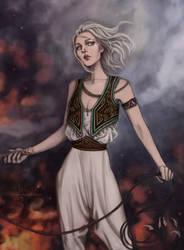 I Am the Flame by l-livas-l
