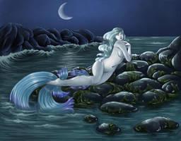 Moonlight Mermaid by Ameza