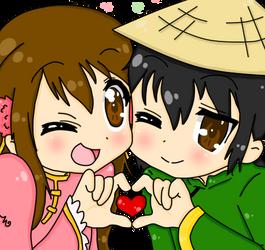 APH: Lucky Star Taiwan + Vietnam by Tobi947