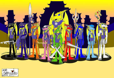 Ten Dragon-Rings Clan by DragonSnake9989