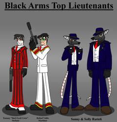 Black Arms Top Lieutenants by DragonSnake9989