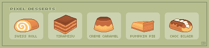 Pixel Desserts by casey-lee