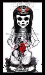 dead girl DEAD by glittersniffer