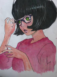 short hair girl by ssnzhd