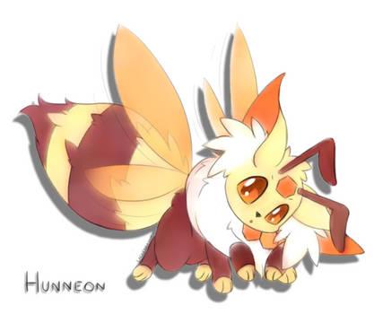 [FanArt][Fakemon] Hunneon by LackeDragon