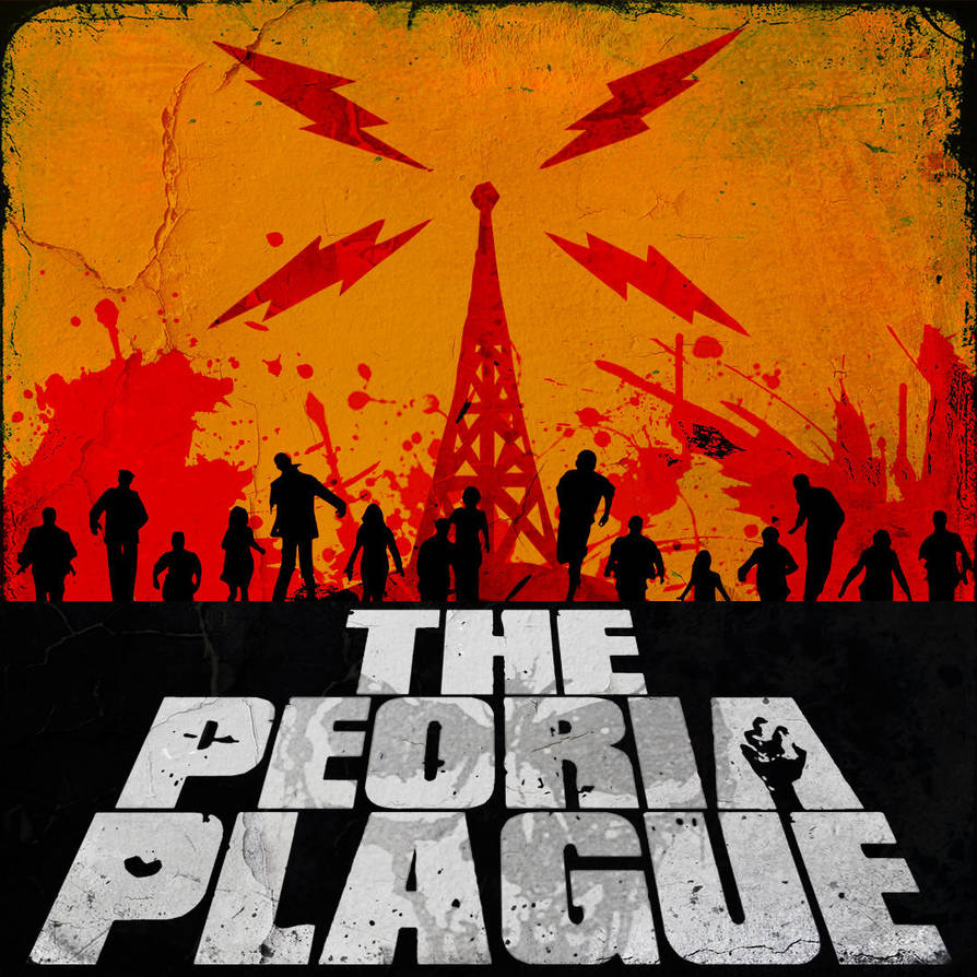 The Peoria Plague Radio Drama - Album Art by sitrirokoia