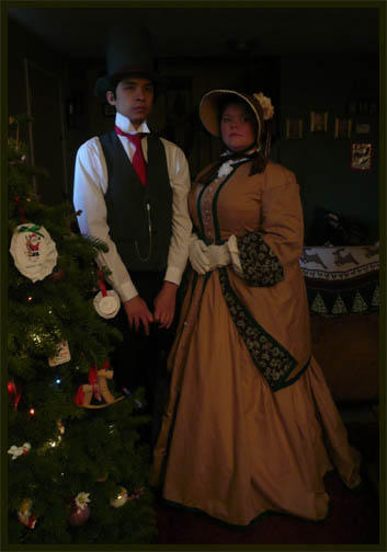 Victorian Couple by pinkxxnightmare