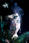 Jade Empress of Masks -DD- by IanStruckhoff