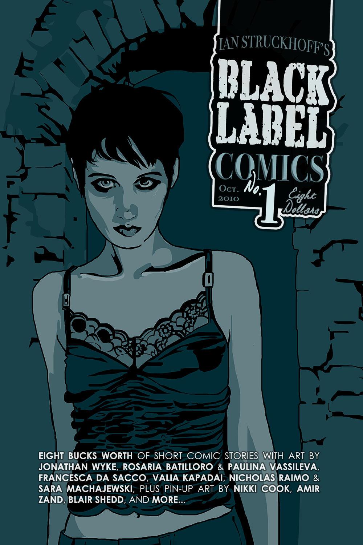 Black Label Comics no. 1 by IanStruckhoff