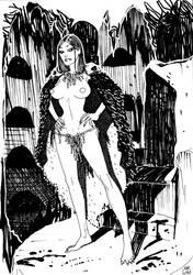 Queen of Night design 1 - JT by IanStruckhoff