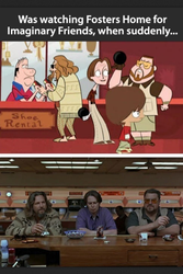the big foster's lebowski by winged-panther