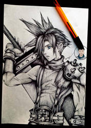 Final Cloud Strife - Final Fantasy VII by Caold