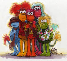 A Cluster Of Fraggles by Phraggle