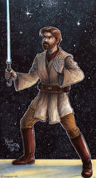 Obi-Wan Kenobi by Phraggle