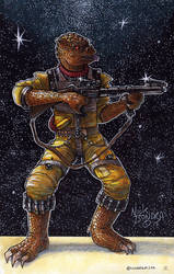 Bossk by Phraggle