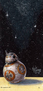 BB-8 by Phraggle