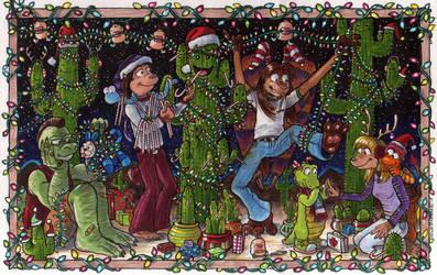 O Christmas Cactus! O Christmas Cactus! by Phraggle