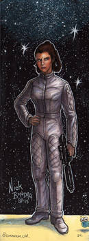 Princess Leia Organa by Phraggle