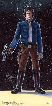 Han Solo by Phraggle