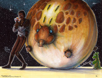 Lando Calrissian and the Puffer Pig by Phraggle