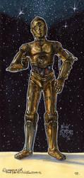 C-3PO by Phraggle