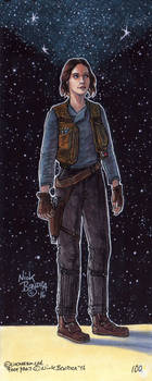 Jyn Erso by Phraggle