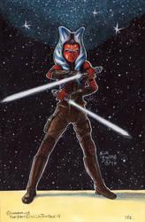 Ahsoka Tano ( post Clone Wars ) by Phraggle
