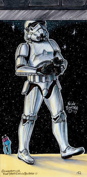 The Stormtrooper That Banged His Head On The Door by Phraggle