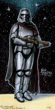 Captain Phasma by Phraggle